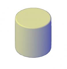 Modello 3D DWG per sgabelli moderni