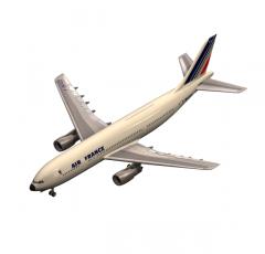 Airbus plane 3D MAX model