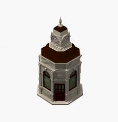 Torhaus 3D MAX Modell