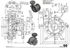 3 & 5 Axis CNC Machinable 2D CAD Drawing 99