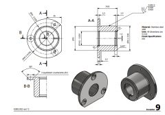 3 & 5 Axis CNC Machinable 2D CAD Drawing 9