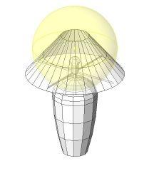 Table Lamp Revit Family 2
