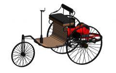 Benz-Patent-Motorwagen Revit Family