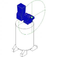 AC Unit  Vertical Revit