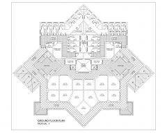 Gebäude im asiatischen Stil mehrstöckig_2 .dwg