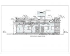 2D-Erhebungen im asiatischen Stil (mehrstöckiges Wohngebäude) Internationaler Standardtyp 13-1 .dwg