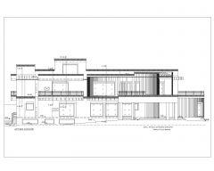2D-Erhebungen im asiatischen Stil (mehrstöckiges Wohngebäude) Internationaler Standardtyp 19-1 .dwg