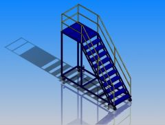 Access platform sldprt model