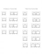 All Lifts - Hydraulic and Traction .dwg