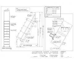 Aluminum Ship ladder .dwg-1