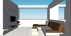 公寓生活设计skp