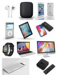 All Apple products 3DS Max models & FBX models