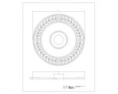 Architectural Rosettes .dwg_3