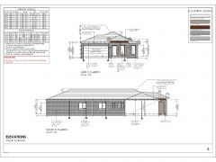 Australian Style Sloping Roof Elevations .dwg-1