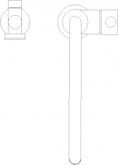 Automatic Built in Heater Faucet Plan dwg Drawing
