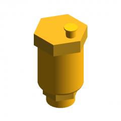 Automatic exhaust valve revit model