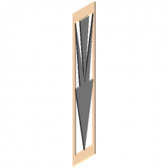 Awning decoration component revit family