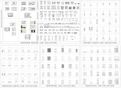 Bedroom design CAD bundle dwg blocks