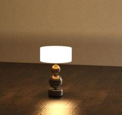 Матовая прикроватная лампа Revit Family