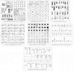 Bathroom design collection - Volume 2 dwg