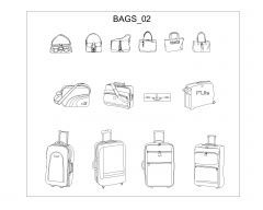 Bags in AutoCAD .dwg-2