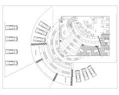 Bank Interior Layout Plan-002