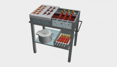 BARBEQUE GRILL SKP MODELL