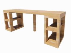 Wooden Basic work deck revit model
