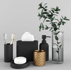 Bath decor set max model