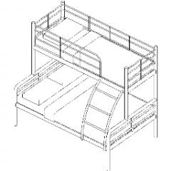Bed Bunk Revit