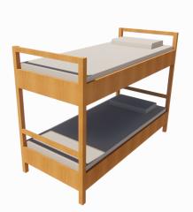 Bed - Bunk revit model
