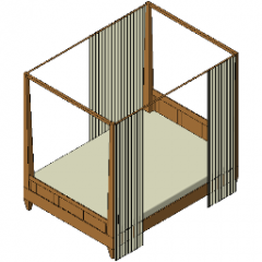 Bed Canopy Revit