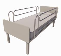 Bed - Hospital revit model