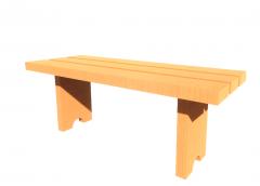 Bench - Locker Room revit model