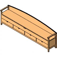 Bench Storage Child Revit
