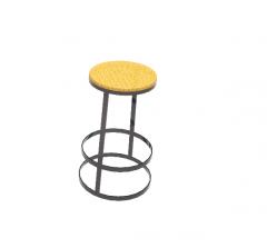 Bernhard stool revit model