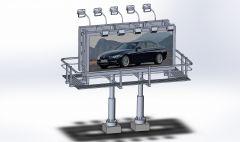 Billboard Solidworks Modell