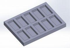 Block mold.SLDPRT file