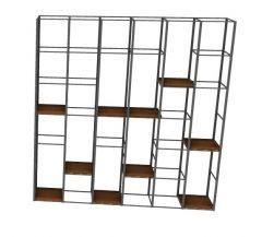 Large wooden designed book rack 3d model .3dm format
