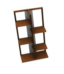 simple Designed modern book rack 3dm model .3dm format