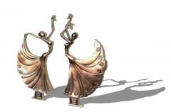 Bronze Bayadere statue skp