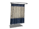 Brown and navy curtains(227) skp