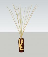 茶色の陶器skp