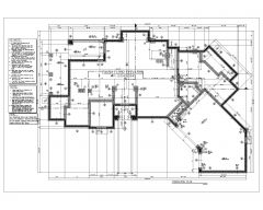 CMUの建物の詳細アーキテクチャBestDesign_Foundation Plan .dwg