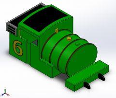 Cabine Solidworks model