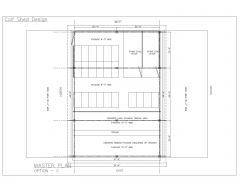 Calf Shed Design - MASTER PLAN-C-Model