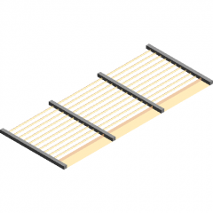 Wooden rafter Canopy revit family