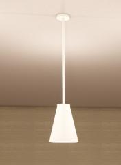 White Ceramic Ceiling Light revit family