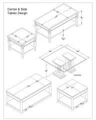 Center & Side Tables Design