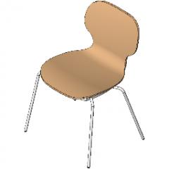Chair Multi Purpose Dine Revit